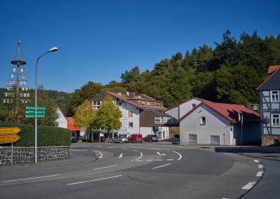Blick auf den Löhlbacher Hof