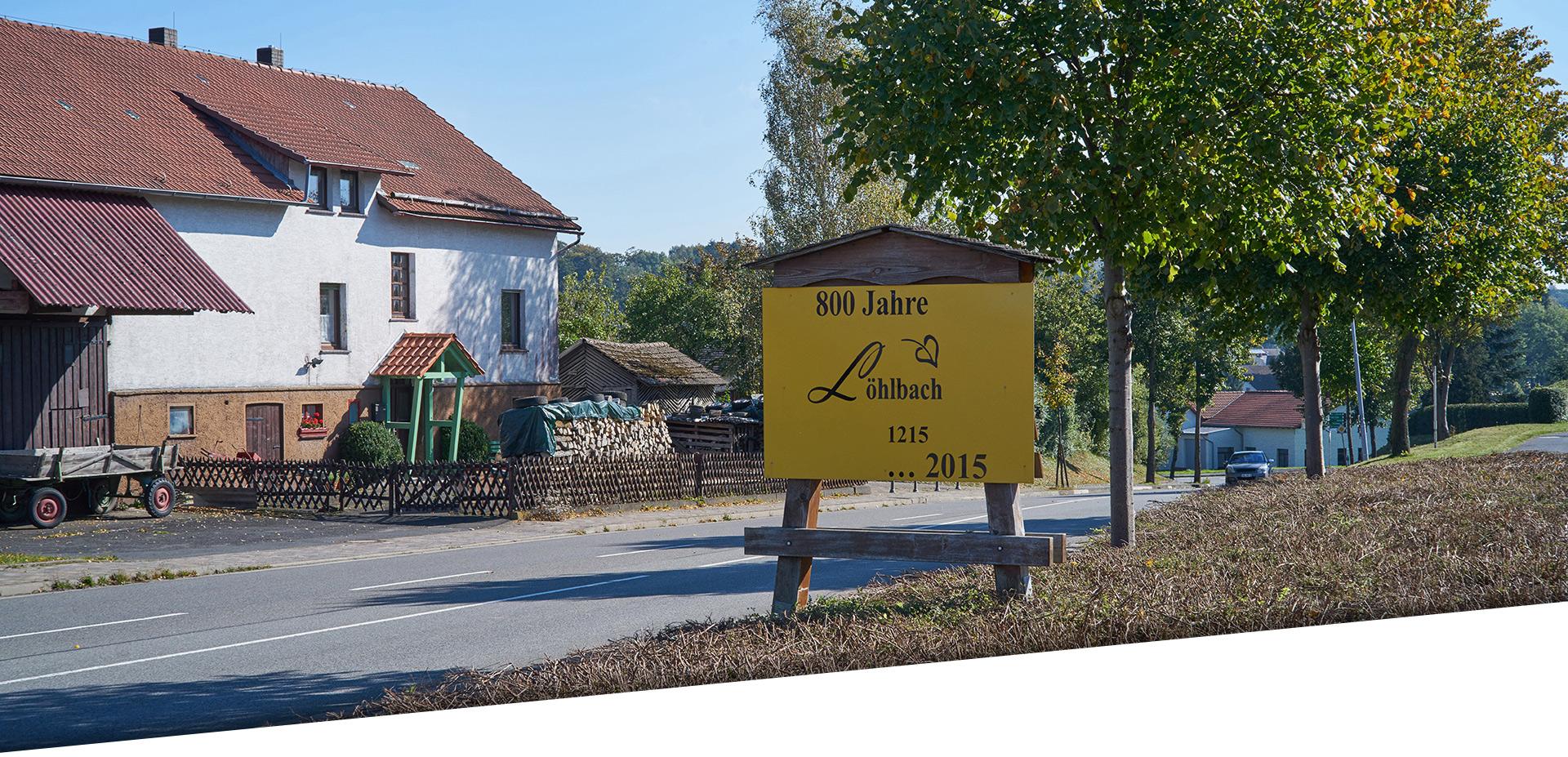 Ortseingang Löhlbach